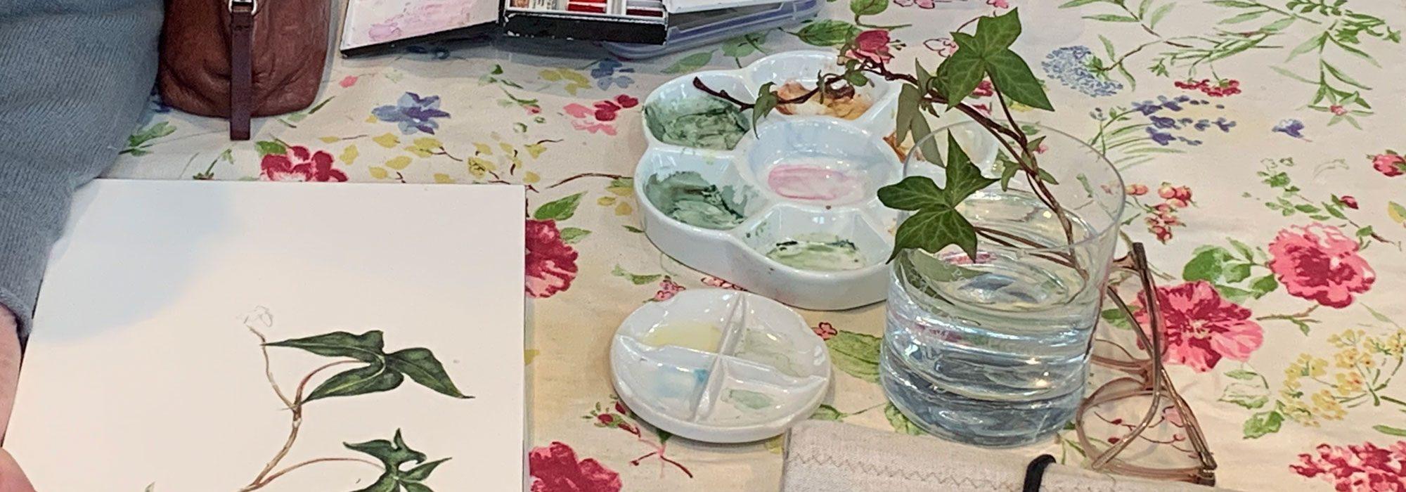 Botanical-Painting-Class